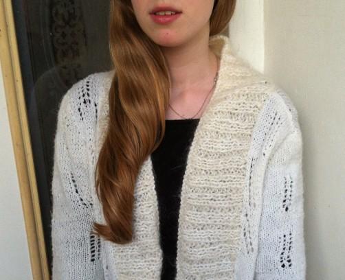 כמה אומץ מגולם בסוודר פשוט אחד... נסו גם אתם בבית לסרוג את הסוודר הראשון שלכם